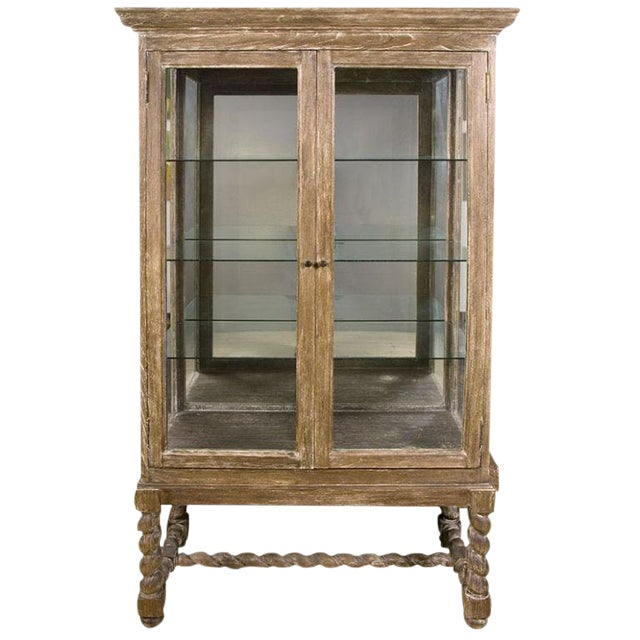 Rustic European Style Cabinet For Sale