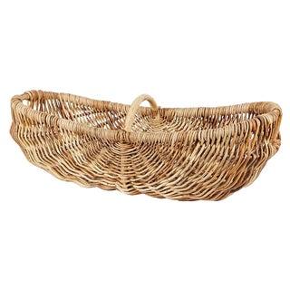 Moisson Abaca Wood Basket For Sale