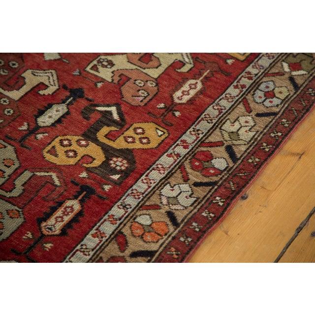 """Vintage Oushak Runner - 4'9"""" x 10'10"""" - Image 10 of 10"""
