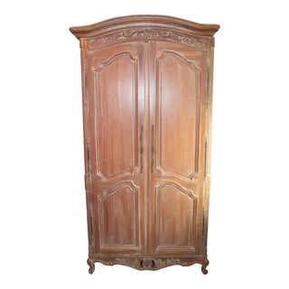 Antique French Country Style Wardrobe For Sale