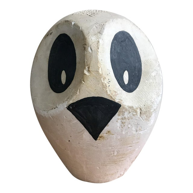 Mid-Century Original Modernist Owl Sculpture For Sale