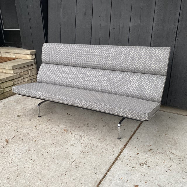 Eames Compact Sofa For Sale - Image 11 of 11