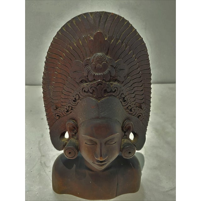 Vintage Balinese Carving For Sale - Image 11 of 13