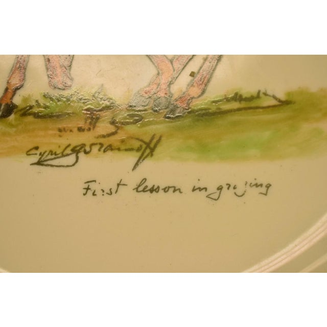 1950's Vintage Cyril Gorainoff Abercrombie & Fitch Plates - Set of 3 For Sale - Image 11 of 12