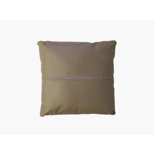Silver Cowhide Pillow - Image 3 of 3