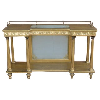 Neoclassical Server with Greek Key Design