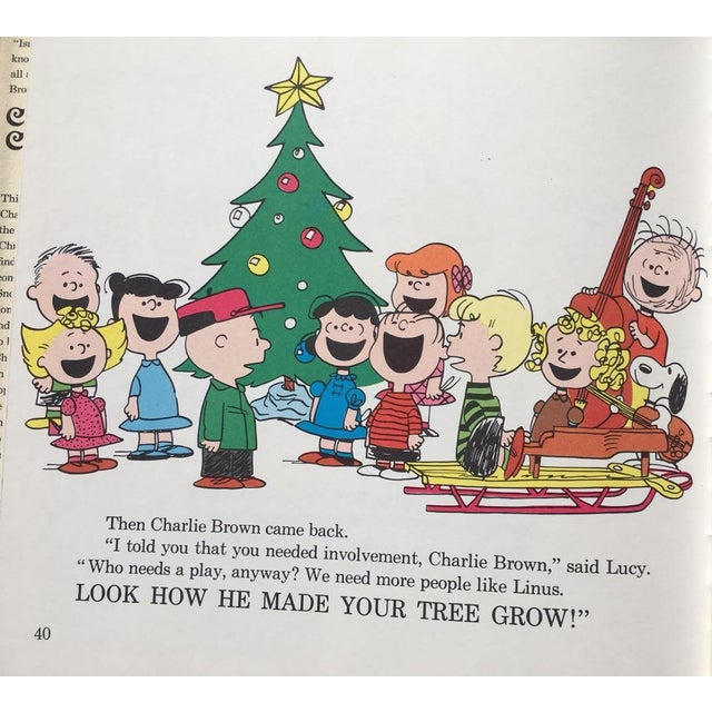 1965 A Charlie Brown Christmas Book Hardcover, 1st Edition by Charles Schulz For Sale -