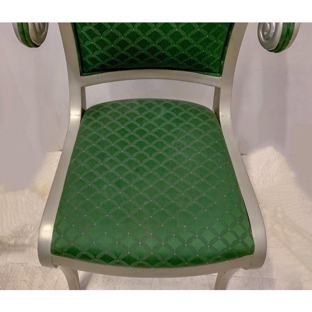 Set of 8 Casa Stradivari Neo-Classical Klismos Dining Chairs For Sale - Image 9 of 12