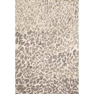"Loloi Rugs Masai Rug, Gray / Ivory - 1'6""x1'6"" For Sale"