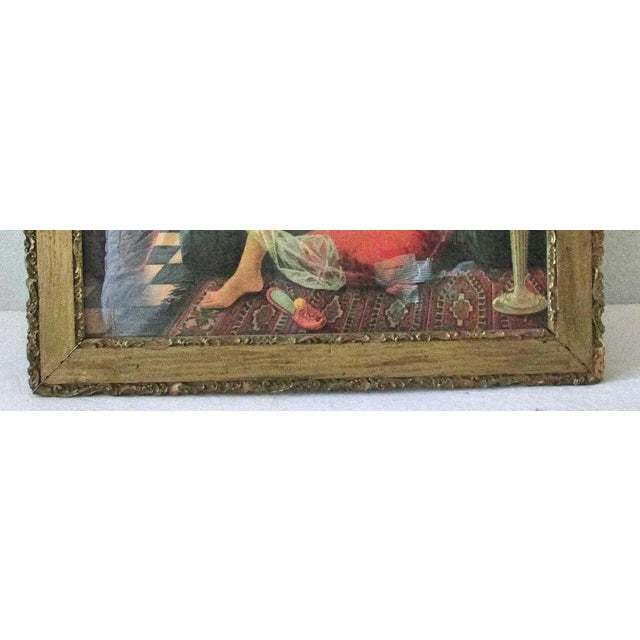 Antique Framed Salome Lithograph - Image 6 of 7
