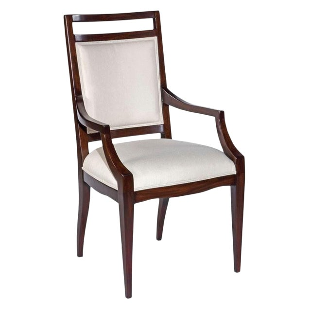 Modern Addison Upholstered Arm Chair For Sale