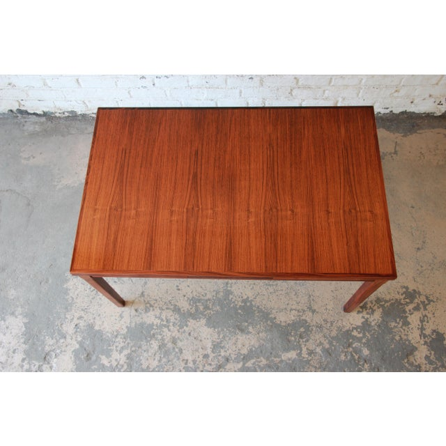 Arne Vodder for Sigh & Sons Danish Modern Rosewood Extension Dining Table For Sale In South Bend - Image 6 of 10