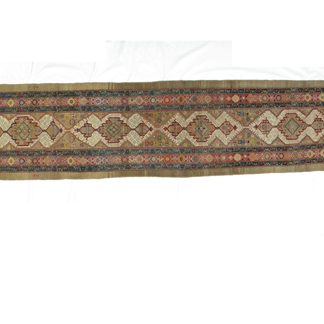 Islamic Leon Banilivi Antique Bakhshaish - 3′3″ × 14′2″ For Sale - Image 3 of 5