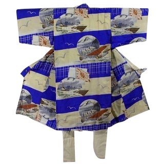 Collectible Rare Wwii Military Kimono for Room Wall Accents For Sale