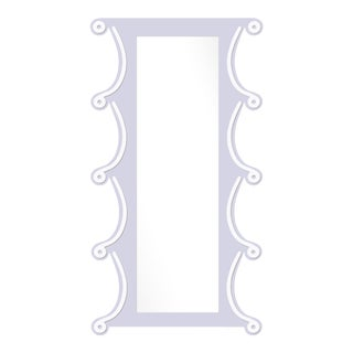 Fleur Home x Chairish Voodoo Mirror in Spring Iris, 42x84 For Sale