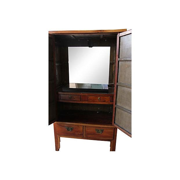 19th Century Antique Chinese Armoire - Image 5 of 5
