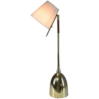 Infinitus-IV Tall Contemporary Handcrafted Articulating Lamp, Flow Collection For Sale