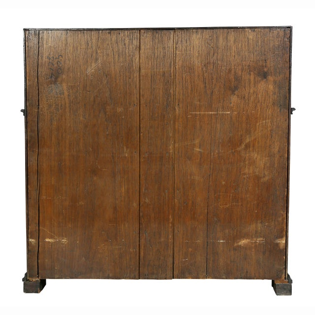 Portuguese Colonial Brazilian Solid Rosewood Slant Lid Writing Desk For Sale - Image 12 of 13