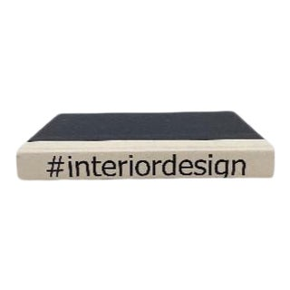 #Interiordesign White & Black Bound Display Book For Sale