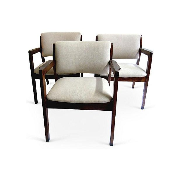 Mid-Century Armchairs - Set of 3 - Image 2 of 5