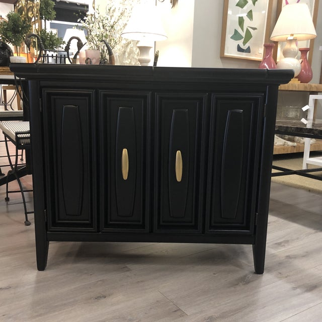 Midcentury Lacquered Bar For Sale - Image 9 of 9