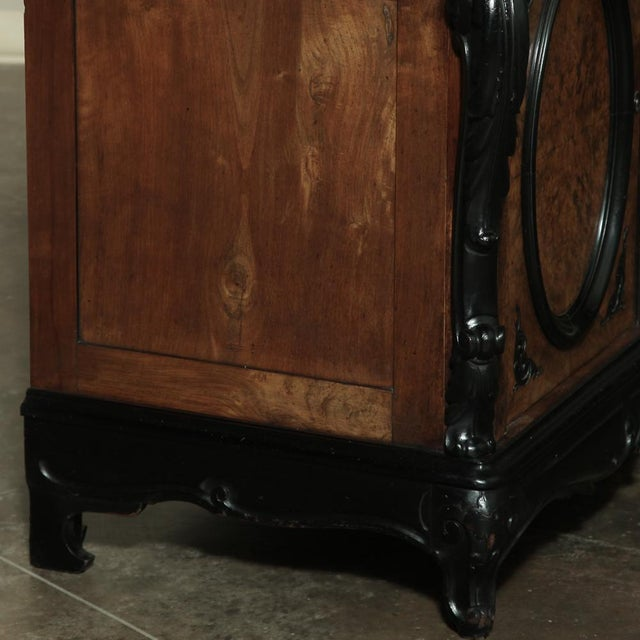 19th Century Biedermeier Marble Top Buffet For Sale - Image 11 of 13