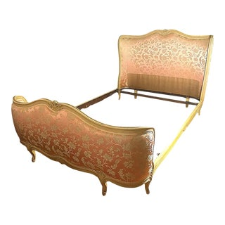 19th Century French Provincial Corbeille Full Sized Bed For Sale