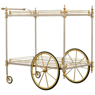 Maison Jansen Tea/Bar Cart, 1960s, France For Sale