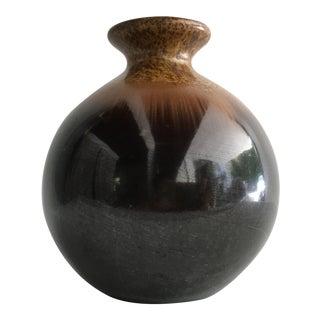 1970s Small Scandinavian Ceramic Vase For Sale