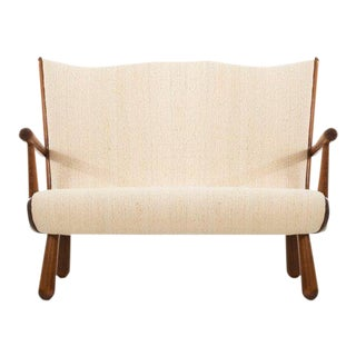 1940's Danish Modern Setee For Sale