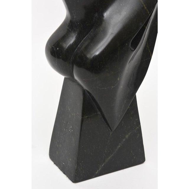 Vintage Modernist Granite Sculpture For Sale - Image 9 of 11