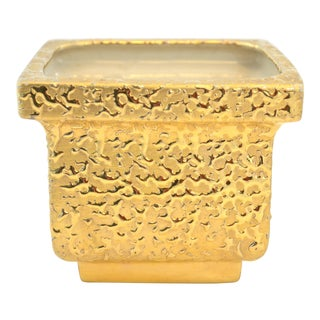 1950s Gold-Encrusted Urn For Sale