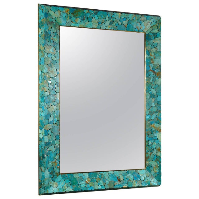 Rectangular Mirror by Kam Tin For Sale - Image 4 of 4