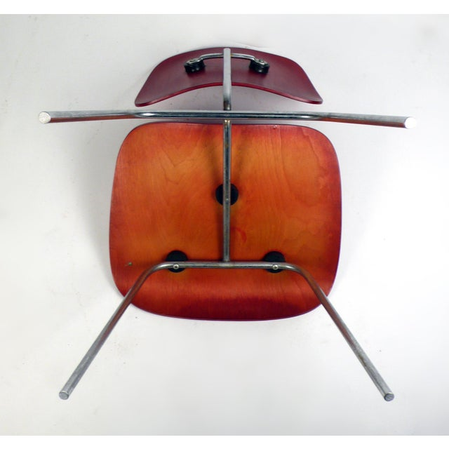 Herman Miller Early Production DCM by Charles Eames For Sale - Image 4 of 6