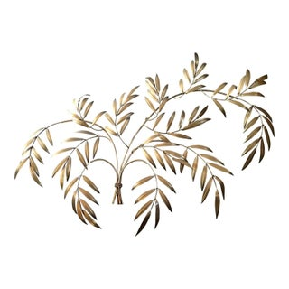 20th Century Wheat Sheaf Wall Sculpture, Italy For Sale