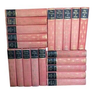 1929 Vintage Red Books - Set of 20