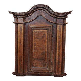 18th Century French Walnut Tabernacle For Sale