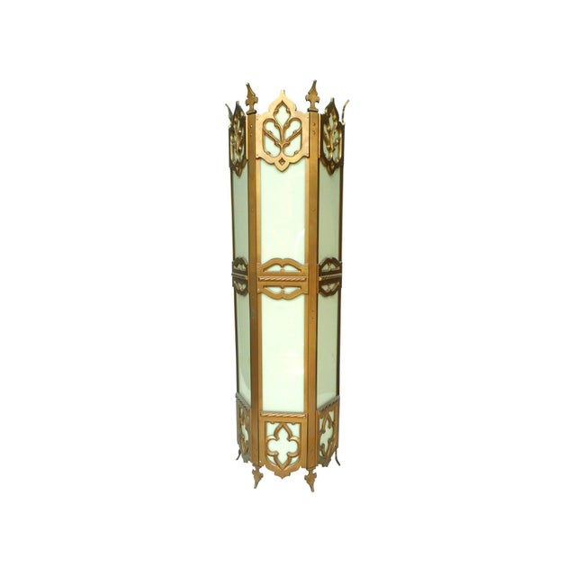 Large Cathedral-Style Lantern - Image 1 of 2