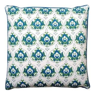 Kalyana Textiles Preeti Block Print Pillow Cover For Sale