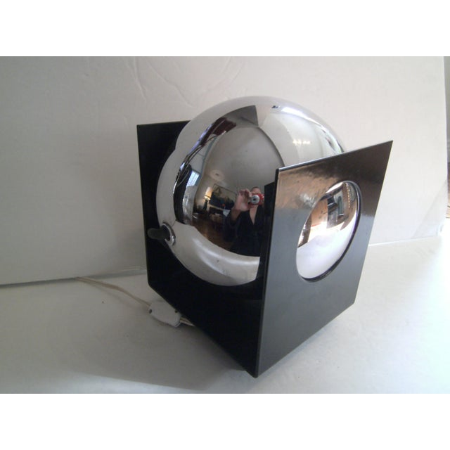 Vintage Chrome Ball Light - Image 6 of 11