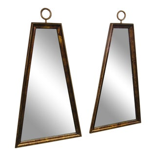 Tommi Parzinger Trapezoidal Mirrors - a Pair For Sale