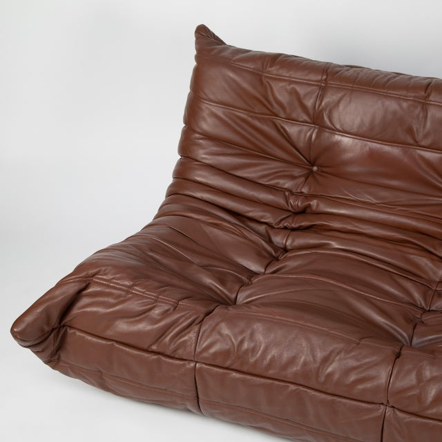 Brown Michel Ducaroy for Ligne Roset Togo Sofa For Sale - Image 8 of 13