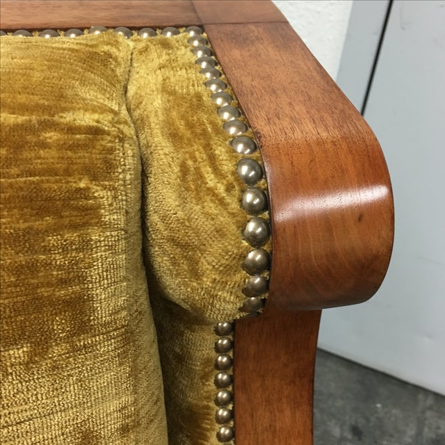 Dessin Fournier Arm Chair For Sale In San Francisco - Image 6 of 9