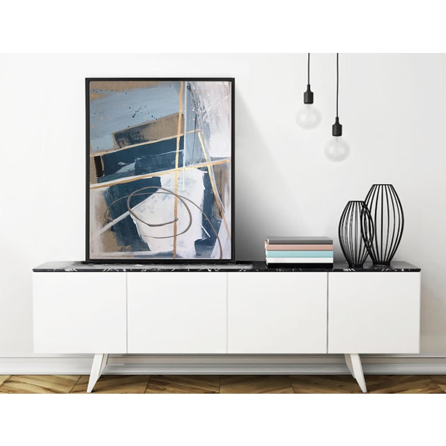 'TSCHUMi' original abstract painting by Linnea Heide - Image 5 of 7