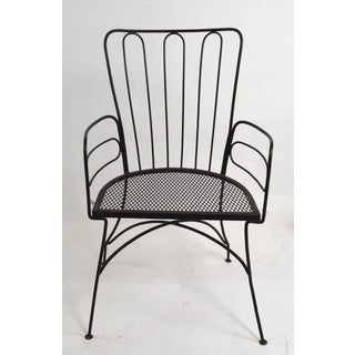 Wrought Iron Armchair After Weinberg Preview