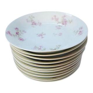 Floral Haviland Limoges Bowls - Set of 11