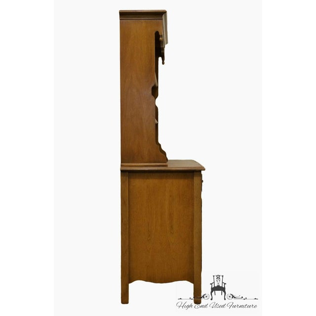 "Drexel French Country 42"" Buffet W/ Hutch For Sale - Image 9 of 13"