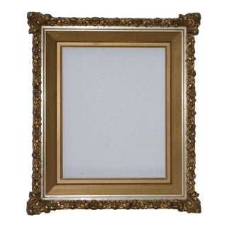 Elaborate gilded and gesso frame c.1900