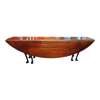 19c Country Squires Mahogany Hunt Table For Sale