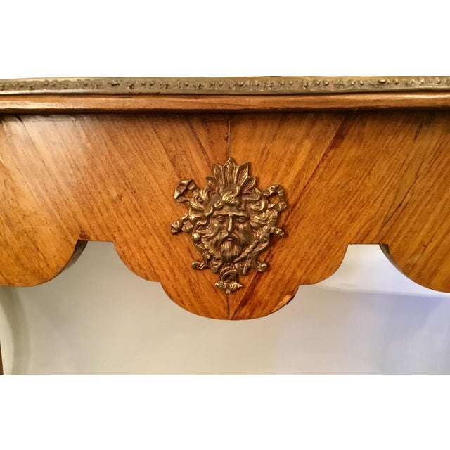 Brown French Writing Desk For Sale - Image 8 of 13